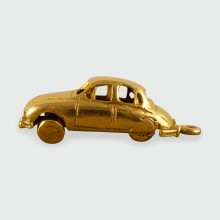 SOLD Vintage Jaguar Charm crafted in 9ct Gold