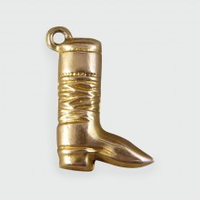 Vintage Boot Charm set in 9ct Gold c1955