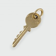 SOLD Vintage Key Charm in 9ct Gold