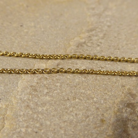 Edwardian Style Contemporary Diamond set Elegant Drop Necklace in 18ct Yellow Gold and Silver