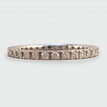 Diamond Eternity Ring set in 18ct White Gold