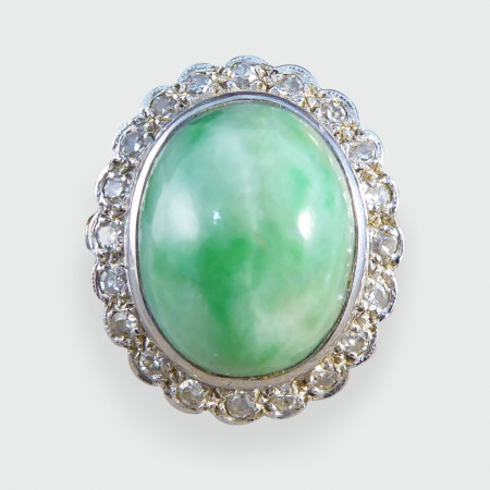 marquise large green diamond buyers jade vintage shop product hawaii apple ring estate s jewelry