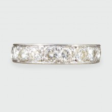 SOLD Art Deco 2.00ct Diamond Eternity Ring in 18ct White Gold