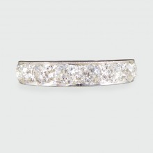 SOLD 2.52ct Diamond Total Full Eternity Ring in Platinum