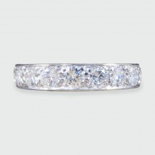 1920's Platinum Eternity Ring set with 2.40ct Diamonds